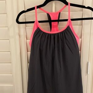 Lululemon tank top with built in bra size 8